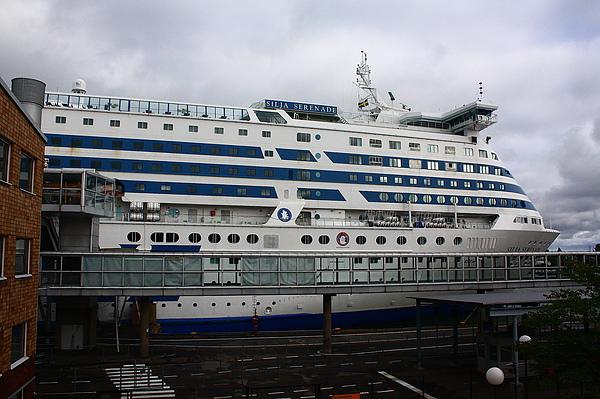 我們將坐這艘船去瑞典的斯德哥爾摩