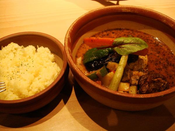 札幌有名的湯咖哩