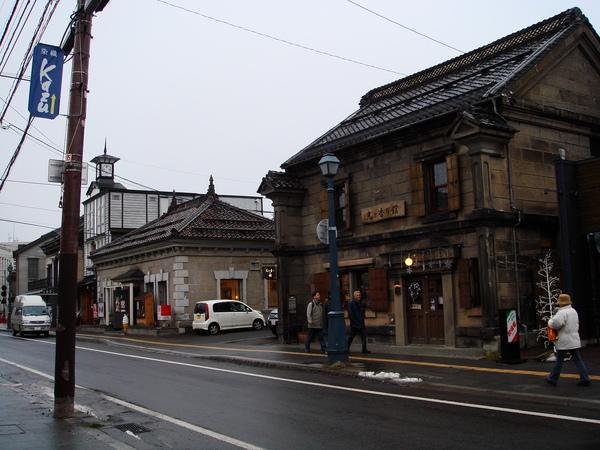 小樽的街道