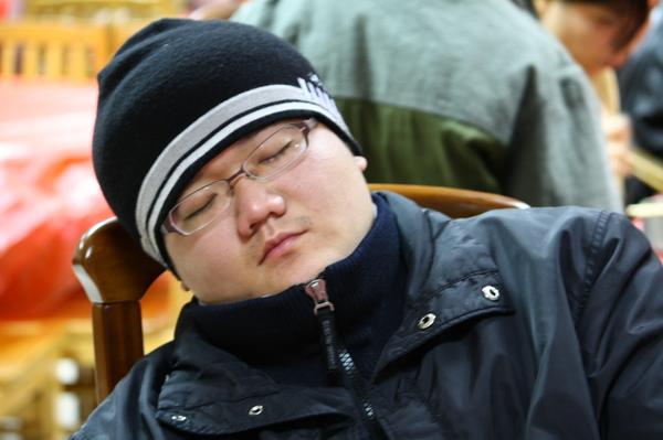 睡著的彥霖