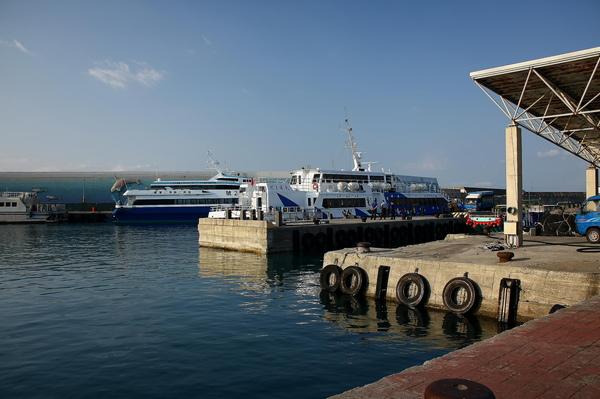 抵達富岡漁港
