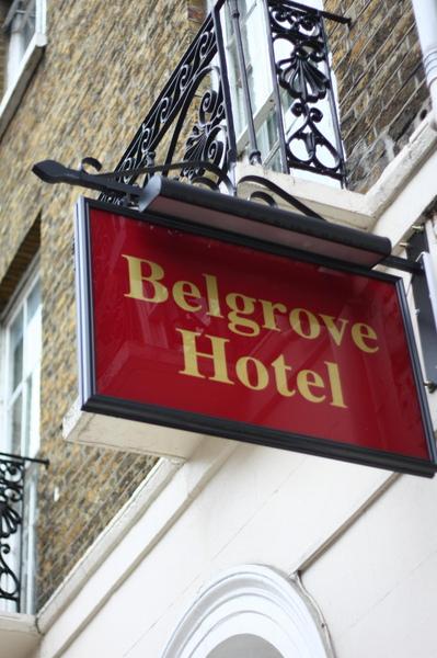 在倫敦待四晚的旅館