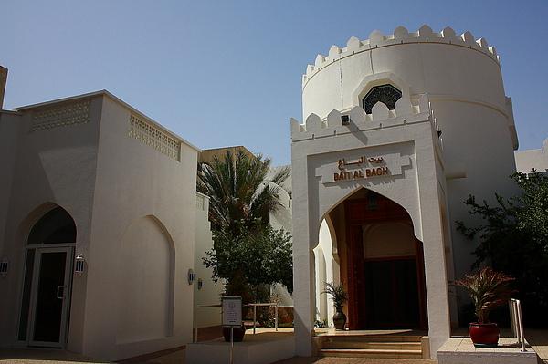 一個在馬斯喀特舊城區的博物館