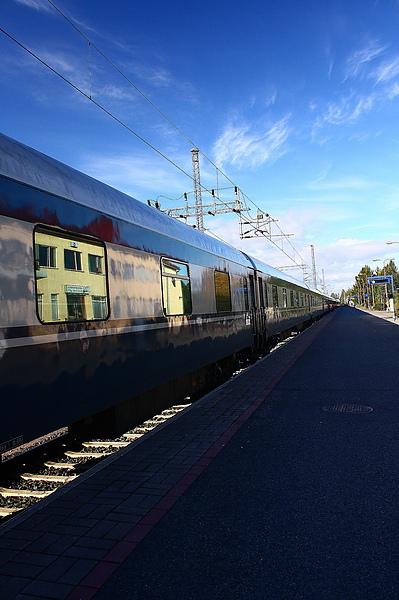 抵達芬蘭Rovaniemi
