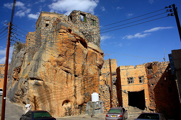Misfah-傳統山中石頭城