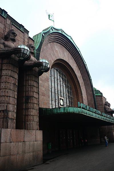 赫爾辛基的中央車站