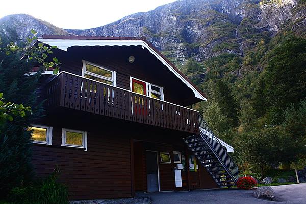 在Flåm住的Hostel