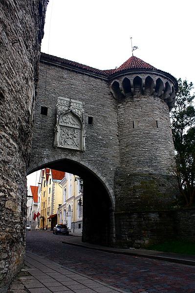 愛沙尼亞首都塔林舊城區城門
