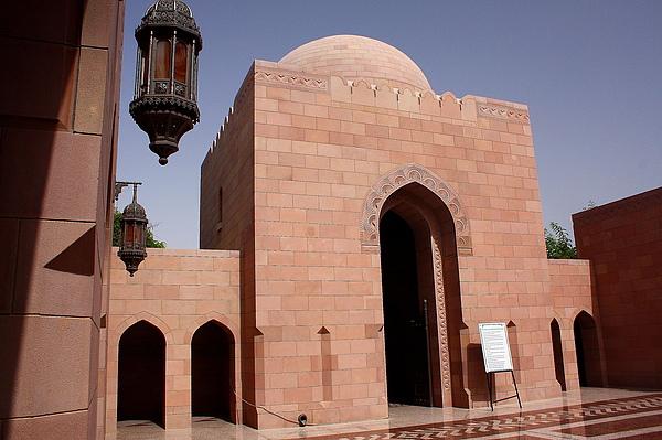 蘇丹卡布司大清真寺的遊客入口