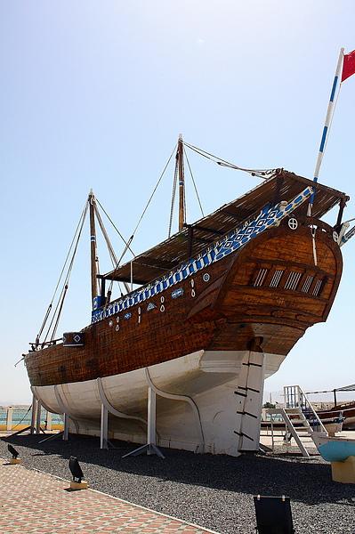 傳統的阿拉伯船