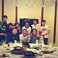 與華劇劇組在中國聚餐