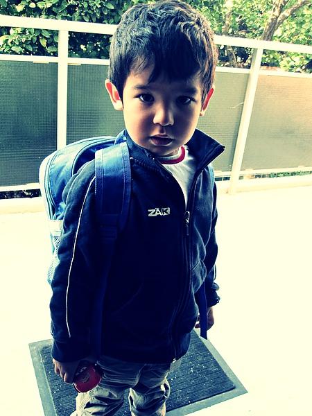 Leo go to school.JPG