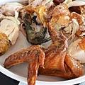 清境美食餐廳-好雞婆土雞城-香草烤雞