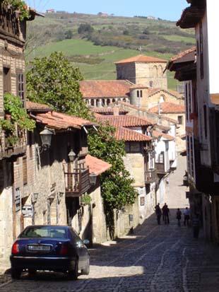西班牙北海濱超美的小鎮~聖堤拉娜Santillana del Mar