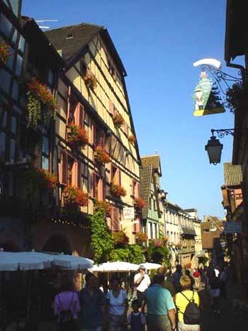 阿爾薩斯 Alsace 洛林 酒鄉之路