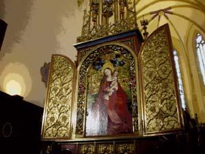 Eglise des Dominicains多明尼加教堂裡的名畫~「玫瑰叢中的瑪麗亞」