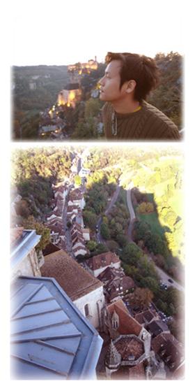 法國西南的Rocamadour霍卡曼都
