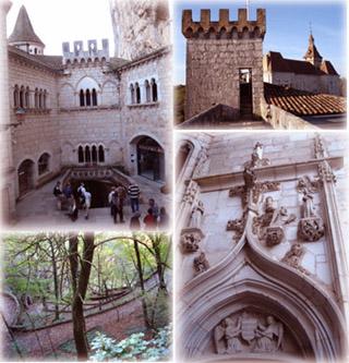 天空之城上的古堡