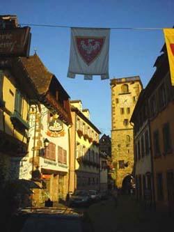 美麗的Ribeauville小鎮裡