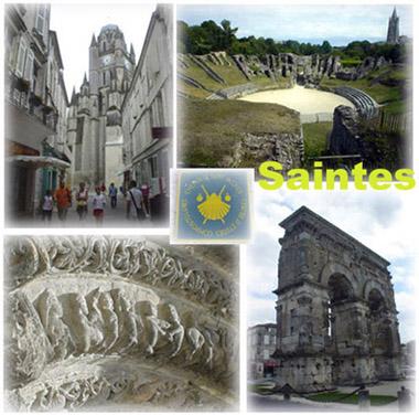羅馬時期就存在的古城~Saintes