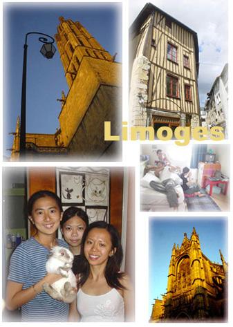 知名的瓷器和琺瑯製造中心~Limoges