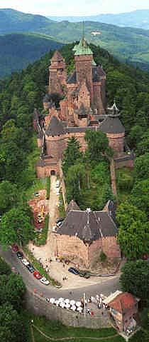 威廉古堡‧Haut - Koenigsbourg