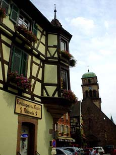 Kaysersberg也有著像童話故事般可愛的木造房屋