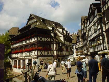 Strasbourg,德法風交雜的Alsace首府
