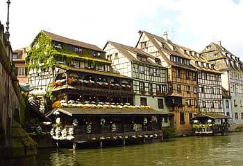 迷人的「小法國區La Petite France」,是當初史特拉斯堡製皮革的地方