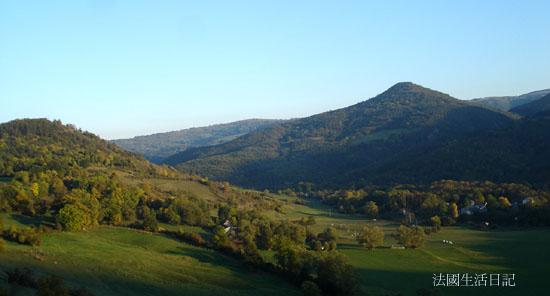 十月的奧文尼山丘