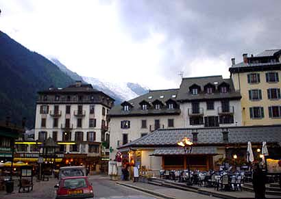 法國滑雪渡假勝地~霞慕尼 Chamonix