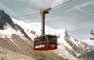 我們搭的高山纜車