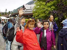 可愛的日本歐巴桑們 ,再會囉!