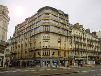 昂熱的新藝術鑲嵌屋藍色之屋La Maison Bleue