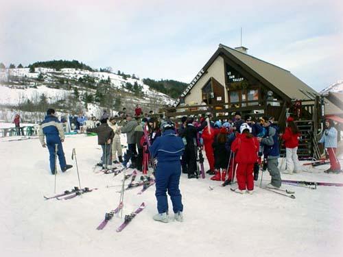 阿爾卑斯山滑雪記