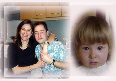 法國朋友Thierry 、 Sylvie和他們的寶貝女兒Noemie