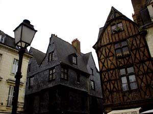 Place Plumereau廣場旁的木屋