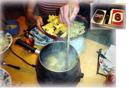 『UNO』與Fondue Savoyarde乳酪小火鍋