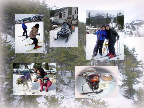 我們的滑雪小集錦!!