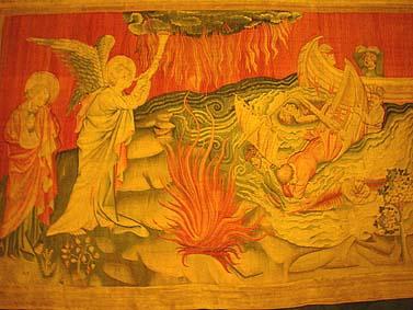 啟示的天使,被殺的羔羊,殺伐的戰士,啟示錄中的基督