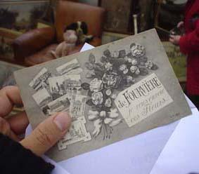 『De Fourviere Je vous envoie ces Fleurs我從里昂送給您....寄情花語.....』