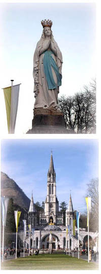 Sainte-Bernadette伯爾納德遇見聖母瑪麗亞的經過