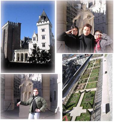 Pau波城巡禮~Chateau Henri IV城堡與花園