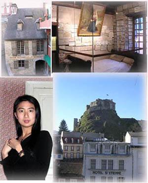 聖女的家與床、山上城堡還有我們的美女壽星
