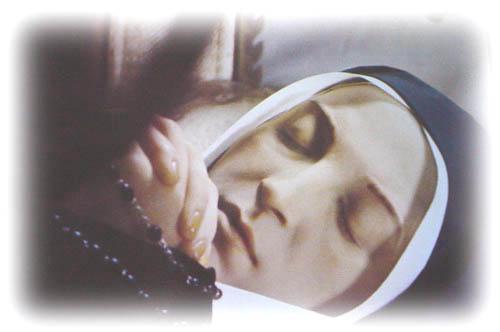 聖女伯爾納德 Sainte-Bernadette安祥的面容