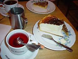 美味可口的洛林起司蛋糕與Fontaine de Fruit水果茶