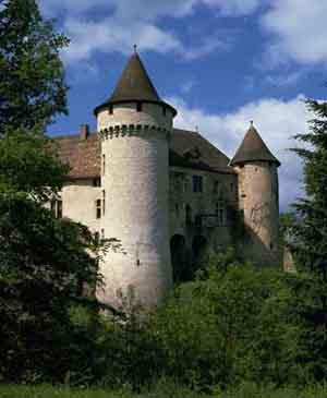 Aulteribe古堡裡的凱薩琳‧梅迪西絲