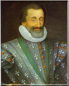 被法國人民愛戴的Henri IV,亨利四世