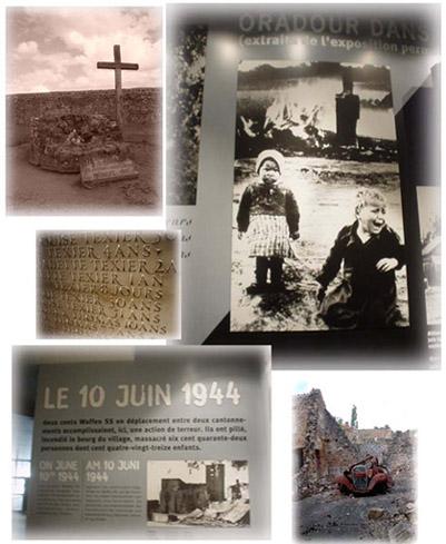 西元1944年6月10日, Oradour村的悲劇...