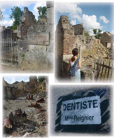 看著Oradour村的一景一物不禁令人心酸